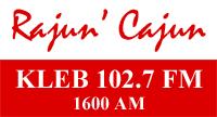 Rajun' Cajun KLEB 102.7 FM 1600 AM
